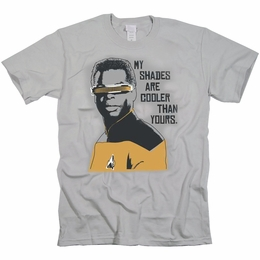 STAR TREK COOLER SHADES ORIGINAL SERIES T-SHIRT
