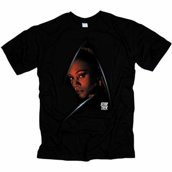 STAR TREK DARK UHURA ORIGINAL SERIES T-SHIRT