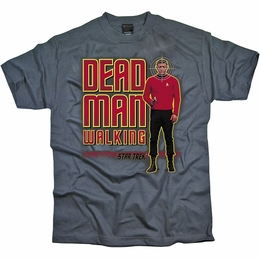 STAR TREK DEAD MAN WALKING ORIGINAL SERIES T-SHIRT