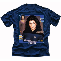 STAR TREK DEANNA TROI THE NEXT GENERATION T-SHIRT