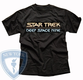 STAR TREK DEEP SPACE NINE LOGO ORIGINAL SERIES T-SHIRT