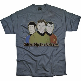 STAR TREK DIG IT ORIGINAL SERIES T-SHIRT