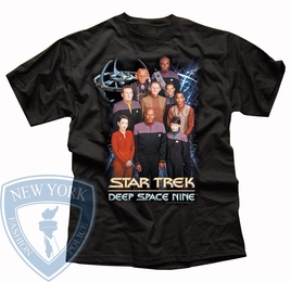STAR TREK DS9 CREW ORIGINAL SERIES T-SHIRT