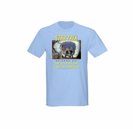 STAR TREK EDGE OF FOREVER ORIGINAL SERIES T-SHIRT