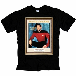 STAR TREK EMPLOYEE OF MONTH ORIGINAL SERIES T-SHIRT