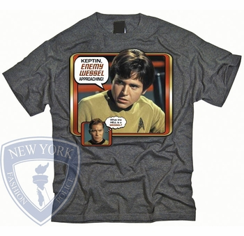 STAR TREK ENEMY WESSEL ORIGINAL SERIES T-SHIRT