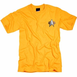 STAR TREK ENGINEERING UNIFORM DEEP SPACE NINE T-SHIRT