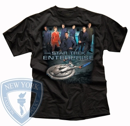 STAR TREK ENTERPRISE CREW ORIGINAL SERIES T-SHIRT