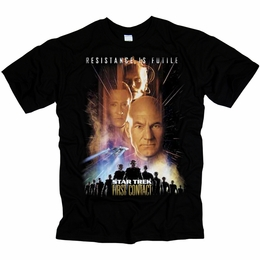 STAR TREK FIRST CONTACT ORIGINAL SERIES T-SHIRT