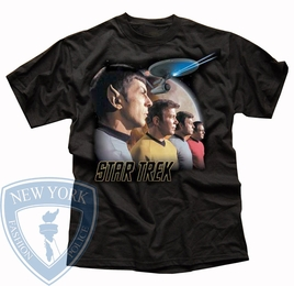 STAR TREK FORWARD TO ADVENTURE ORIGINAL SERIES T-SHIRT