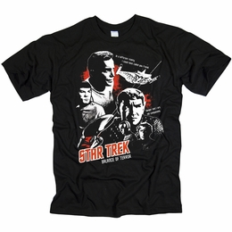 STAR TREK GRAPHIC GOOD VS EVIL ORIGINAL SERIES T-SHIRT
