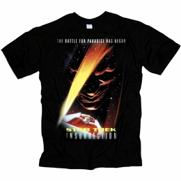 STAR TREK INSURRECTION ORIGINAL SERIES T-SHIRT