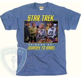 STAR TREK JOURNEY TO BABEL ORIGINAL SERIES T-SHIRT
