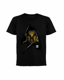 STAR TREK KIRK DARK MOVIE T-SHIRT