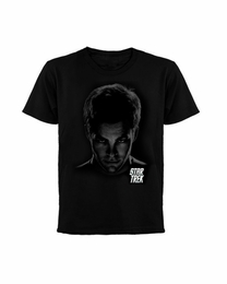 STAR TREK KIRK SHADOWS MOVIE T-SHIRT