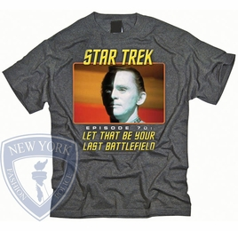 STAR TREK LAST BATTLEFIELD ORIGINAL SERIES T-SHIRT