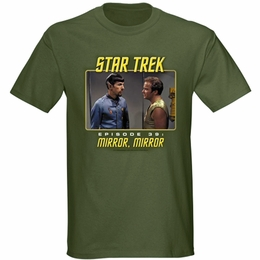 STAR TREK MIRROR MIRROR ORIGINAL SERIES T-SHIRT