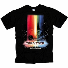 STAR TREK MOTION PICTURE POSTER ORIGINAL SERIES T-SHIRT