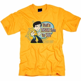 STAR TREK MR SULU TO YOU ORIGINAL SERIES T-SHIRT
