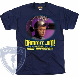 STAR TREK NOT A HAIR DRESSER ORIGINAL SERIES T-SHIRT