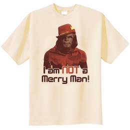 STAR TREK NOT MERRY THE NEXT GENERATION T-SHIRT