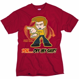 STAR TREK OFF MY SHIP ORIGINAL SERIES T-SHIRT