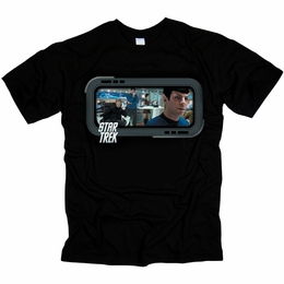 STAR TREK ON THE BRIDGE ORIGINAL SERIES T-SHIRT