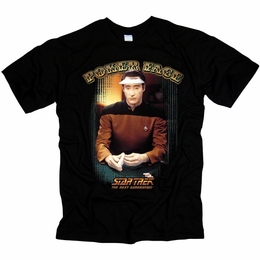 STAR TREK POKER FACE ORIGINAL SERIES T-SHIRT