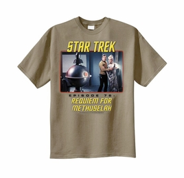 STAR TREK REQUIEM FOR METHUSELAH ORIGINAL SERIES T-SHIRT