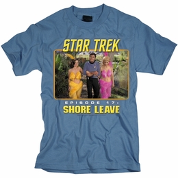 STAR TREK SHORE LEAVE ORIGINAL SERIES T-SHIRT