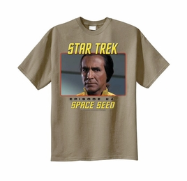 STAR TREK SPACE SEED ORIGINAL SERIES T-SHIRT