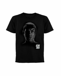 STAR TREK SPOCK SHADOWS MOVIE T-SHIRT