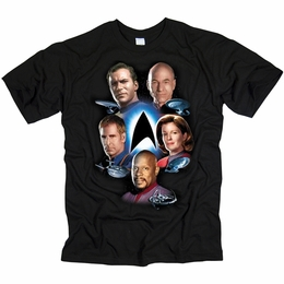 STAR TREK STARFLEETS FINEST THE NEXT GENERATION T-SHIRT