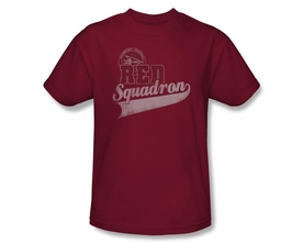 STAR TREK T-SHIRT DEEP SPACE NINE RED SQUADRON SPORT
