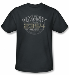 STAR TREK T-SHIRT DEEP SPACE NINE SISKO GRADUATION