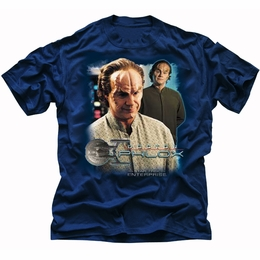 STAR TREK T-SHIRT ENTERPRISE DOCTOR PHLOX