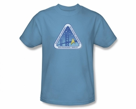 STAR TREK T-SHIRT NEXT GENERATION COLOR LOGO