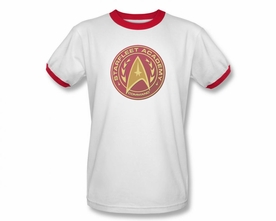 STAR TREK T-SHIRT NEXT GENERATION COMMAND