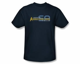 STAR TREK T-SHIRT NEXT GENERATION I SURVIVED THE KABAYASHI MARU