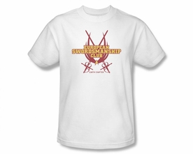 STAR TREK T-SHIRT NEXT GENERATION SWORDSMANSHIP CLUB