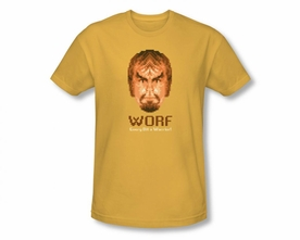 STAR TREK T-SHIRT NEXT GENERATION WORF