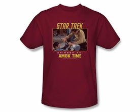 STAR TREK T-SHIRT ORIGINAL SERIES AMOK TIME