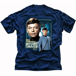 STAR TREK T-SHIRT ORIGINAL SERIES DOCTOR MCCOY