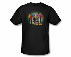 STAR TREK T-SHIRT ORIGINAL SERIES ENTERPRISES FINEST