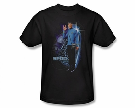 STAR TREK T-SHIRT ORIGINAL SERIES GALACTIC SPOCK