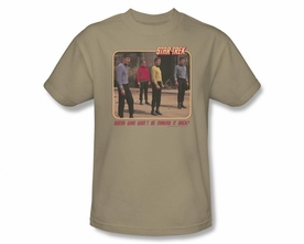 STAR TREK T-SHIRT ORIGINAL SERIES RED SHIRT BLUES