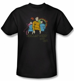 STAR TREK T-SHIRT ORIGINAL SERIES ROLLIN DEEP