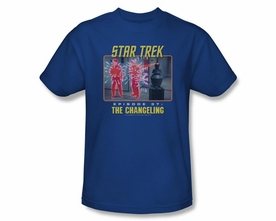 STAR TREK T-SHIRT ORIGINAL SERIES THE CHANGELING