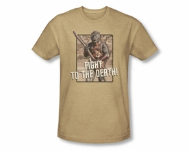 STAR TREK T-SHIRT ORIGINAL SERIES TO THE DEATH