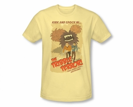 STAR TREK T-SHIRT ORIGINAL SERIES TRIBBLE THREAT